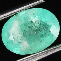 1.44ct Mint Green Colombian Emerald (GEM-35106)