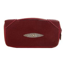 Stingray Hide Clutch Purse Wallet (ACT-327)