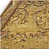 Image 4 : Architectural Antique Gilded Temple Roof Gable (ANT-360)