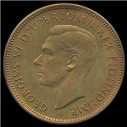 1937 Britian 1/4p MS65/66 (COI-8833)