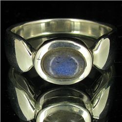 23.75twc Labradorite Sterling Ring (JEW-3903)