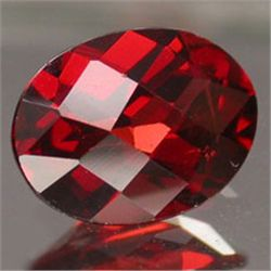.5ct Blazingly Gorgeous Red Oval Garnet Gem 6x4mm (GMR-0162)