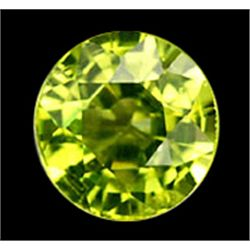 2mm Round Cut Natural Rich Green Peridot (GMR-0574)