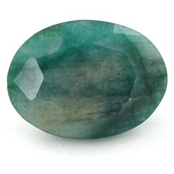 36.2ct Translucent Brazilian Emerald Oval (GEM-42886)