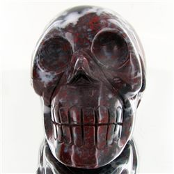 1550ct Hand Carved Agate Skull (MIN-001706)