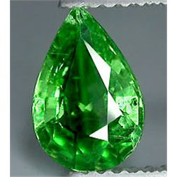 1.35ct Hot Mint Green Tsavorite Garnet VVS (GEM-7053)