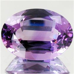 20.4ct Master Cut Uruguay Purple Amethyst Oval (GEM-43490)