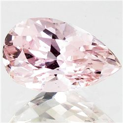 9.2ct Sparking Top Pink Kunzite Pear (GEM-43782)