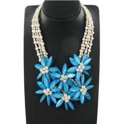 1030ct MOP & Pearl Necklace (JEW-3657)