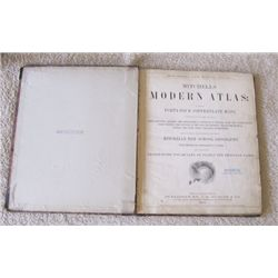 Mitchell's Modern World Atlas, Pub. by Butler, 1875