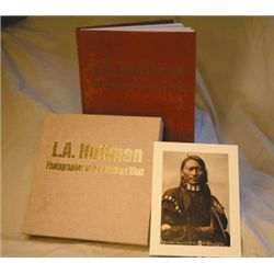 Peterson, Larry, LA Huffman- Photography, deluxe leather bound slip case ltd. ed. #36/134, photo of