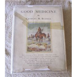 C.M. Russell, Good Medicine, 1st, dj