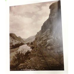 William Henry Jackson, Beside Clear Creek Canyon Near Fall River, Contemporary print from original g