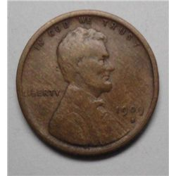 1909-S Cent Lincoln Nice VF
