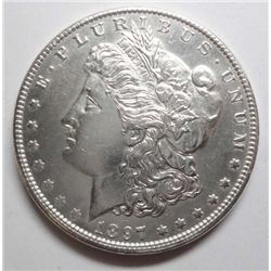 1897-O Morgan $ Ch BU 60+, well struck & attractive