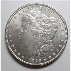 1899 Morgan $, ChBU 64 Satiny, frosty surfaces