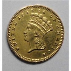 1889 $1 Gold T3,