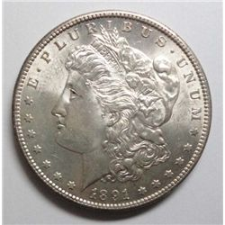 1891S Morgan $  MS62