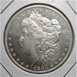 1883O Morgan $  MS63
