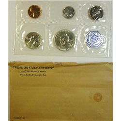 1955  FLAT PACK U.S. MINT PROOF SET, ORIGINAL PACKAGING
