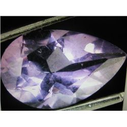 12.32 ctw Amethyst Gemstone (pear Shape)