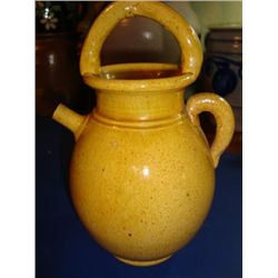 French pottery Gargoulette jug circa 1930