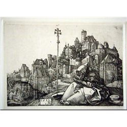 Albrect Durer Etching Most Famous Engraver In The World