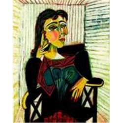 Dora Marr by Picasso Giclee on Canvas S/N