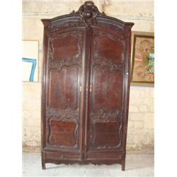 French Louis XV armoire circa 1790
