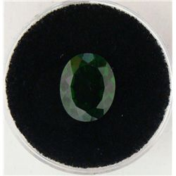 3.25 CT CHROME DIOPSIDE GREEN OVAL NATURAL GEMSTONE