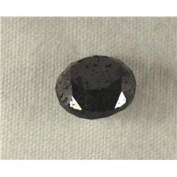 2.44 Carat Loose Black Diamond Opaque-A! Clarity