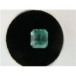 2.66 Carat Bright Glowing Green Emerald Gemstone