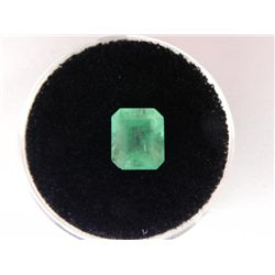 1.79 Carat Bright Glowing Green Emerald Gemstone