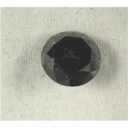2.29 Carat Black Loose Diamond Opaque-A! Clarity