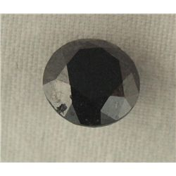 4.42 Carat Black Loose Diamond Opaque-A! Clarity