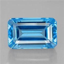 9.64ct Swiss Blue Topaz