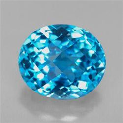 8.54ct Swiss Blue Topaz