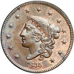 1835 N-8 R1 Head of 1836 MS62