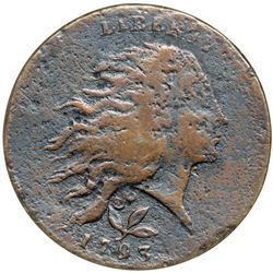 1793 S-6 R3 Wreath Cent ANACS graded VF details, corrod