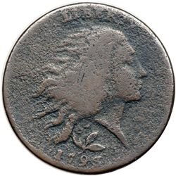 1793 S-6 R3 Wreath Cent G5