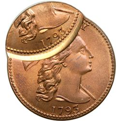 1793 Gallery Mint Replica of a Liberty Cap Cent, Doubl