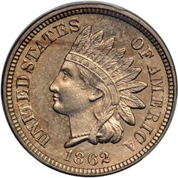 1862 Indian Head 1C PCGS MS64