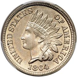 1864 Indian Head 1C. Copper-Nickel