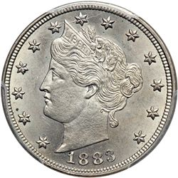 1883 Liberty 5C. Without CENTS