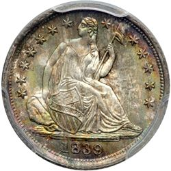 1839 Liberty Seated H10C