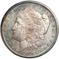 1879-CC Morgan $1. Capped Die