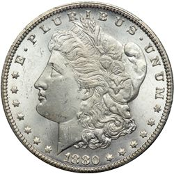 1880/79-CC Morgan $1. Rev of 1878