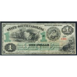 Columbia, SC - State of South Carolina Cr. 3. $1.00 Mar