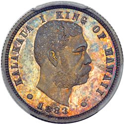 1883 Hawaiian Ten Cents