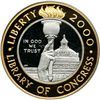 2000-W Library of Congress Bimetallic $10